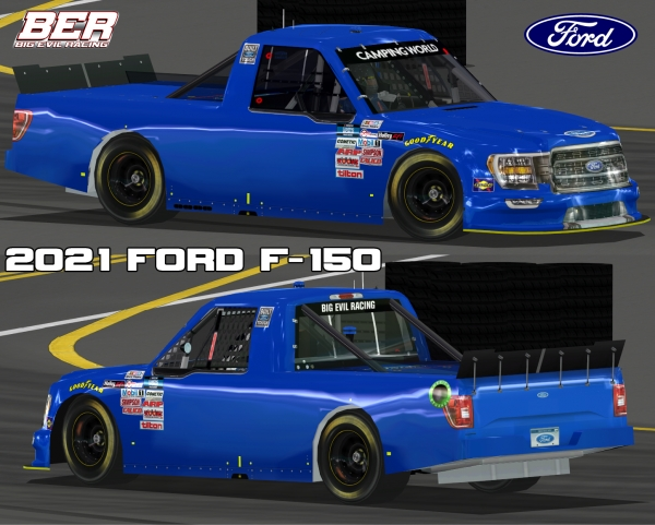 2021 CWS15 Ford F-150 Template Released!